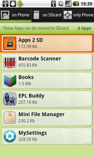 Application Name : Apps 2 SD (Move app 2 sd)