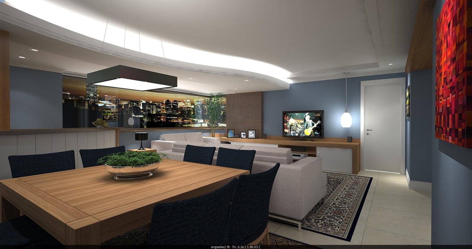 Projeto de reforma de um apartamento em Petrópolis Porto Alegre. #A82923 1600 843
