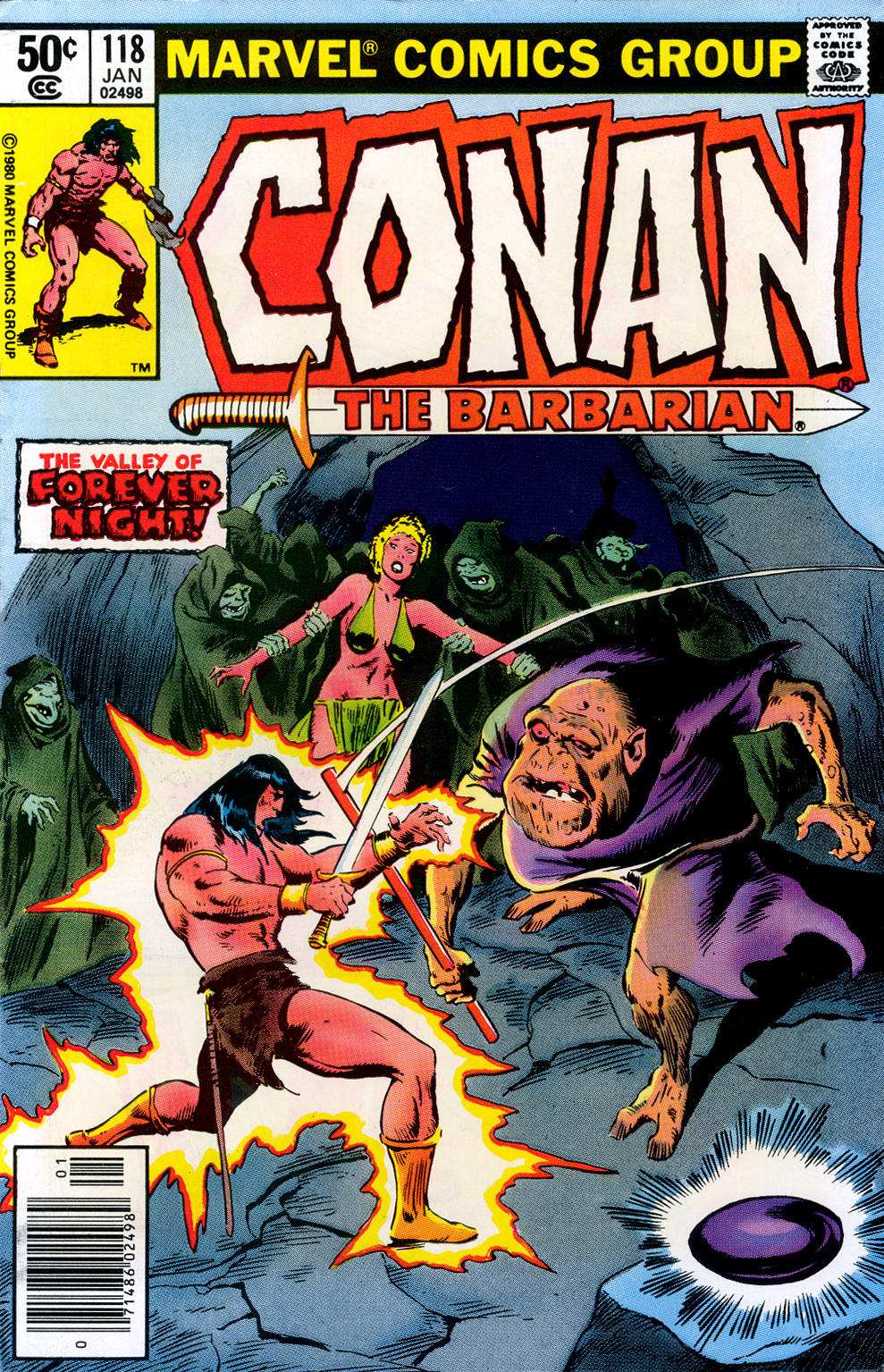 Conan the Barbarian (1970) Issue #118 #130 - English 1
