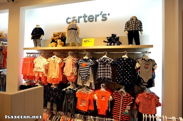 Carter's branded kid's clothing