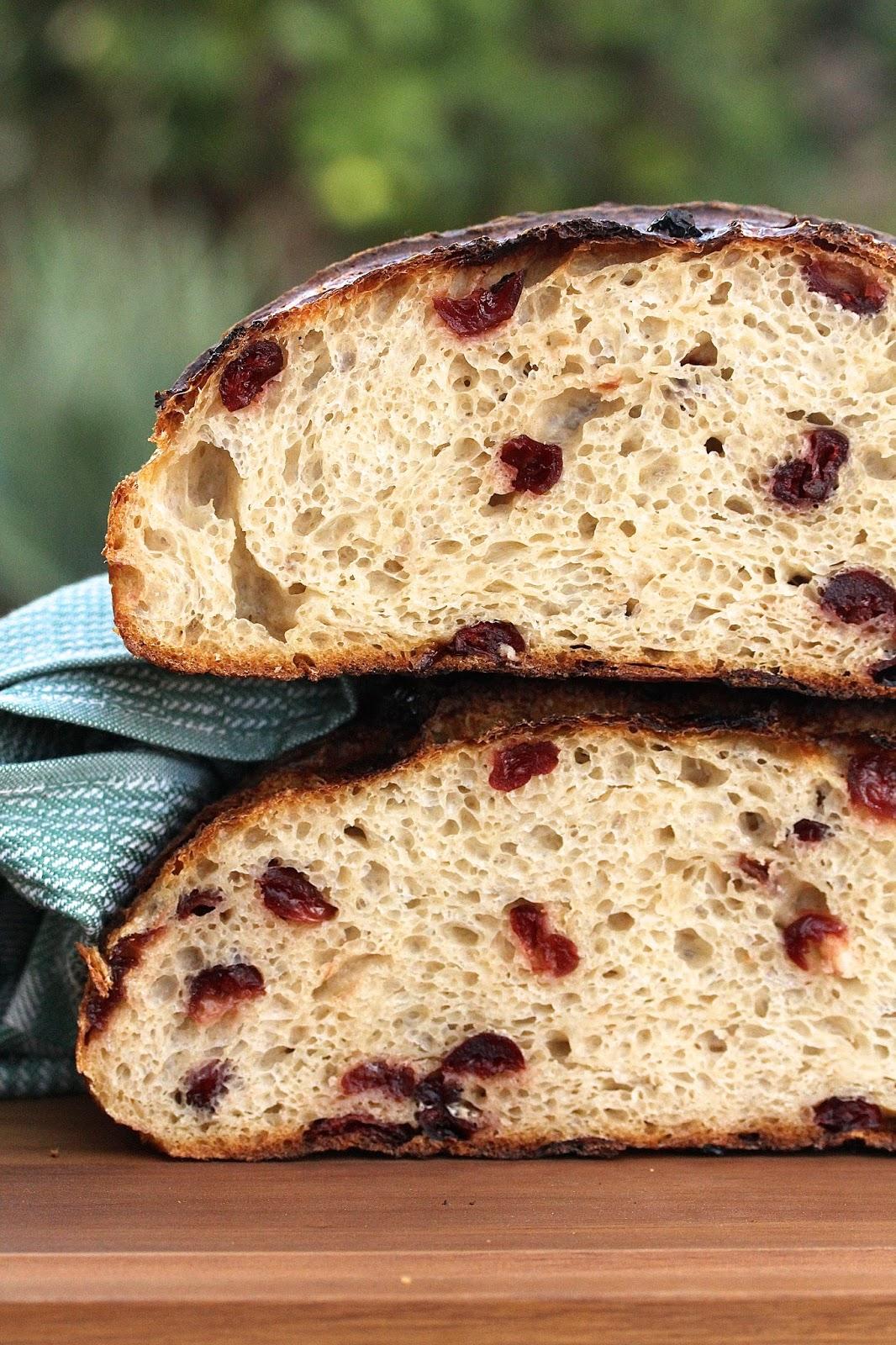 Cranberry Sourdough Country Bread