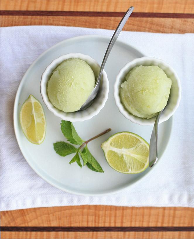 Rezept für Caiphirinia Sorbet