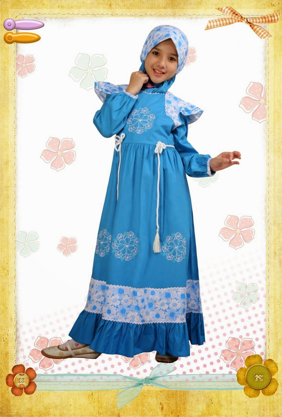 Model Baju Pesta Muslim Anak Perempuan Model Baju Pesta
