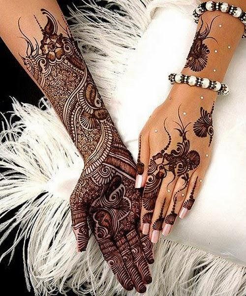 Very Beautiful Bridal Mehndi Designs : Mehndi designs beautiful rajasthani
