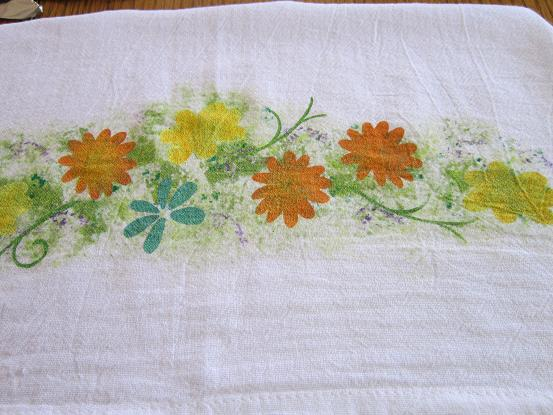 Miss Abigail S Hope Chest Stenciled Dish Towel