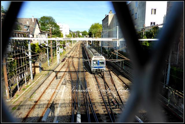 Versailles pont rue du Parc de Clagny Transilien Train