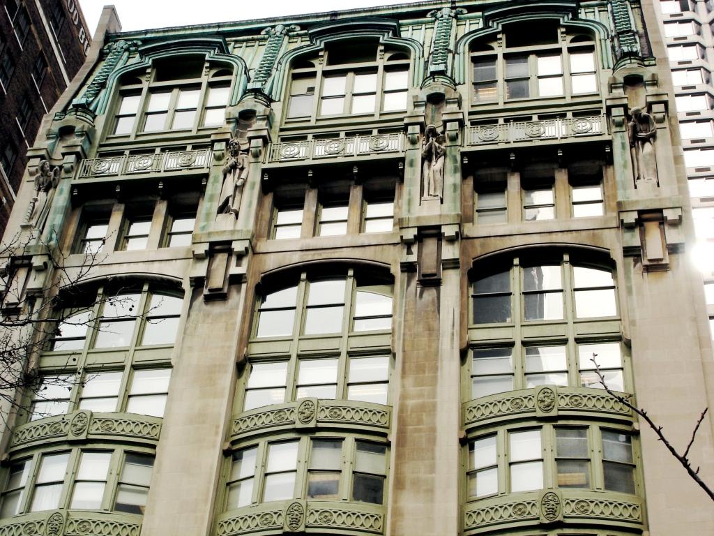 daytonian in manhattan the art nouveau new york evening post