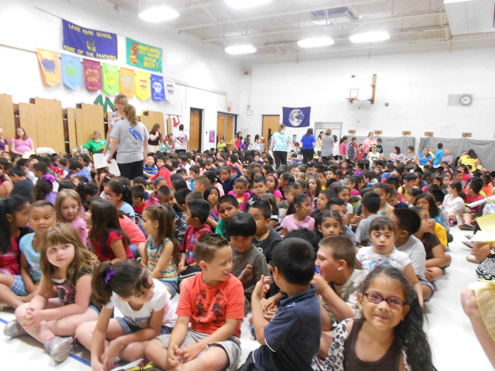 Humanitarian Service Project Hsp Picks Golden Ticket Winners During Visit To Lake Park Elementary