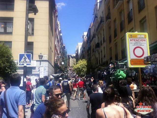 Dia 3: Madri (Espanha) - Missa, El Rastro e Blablacar