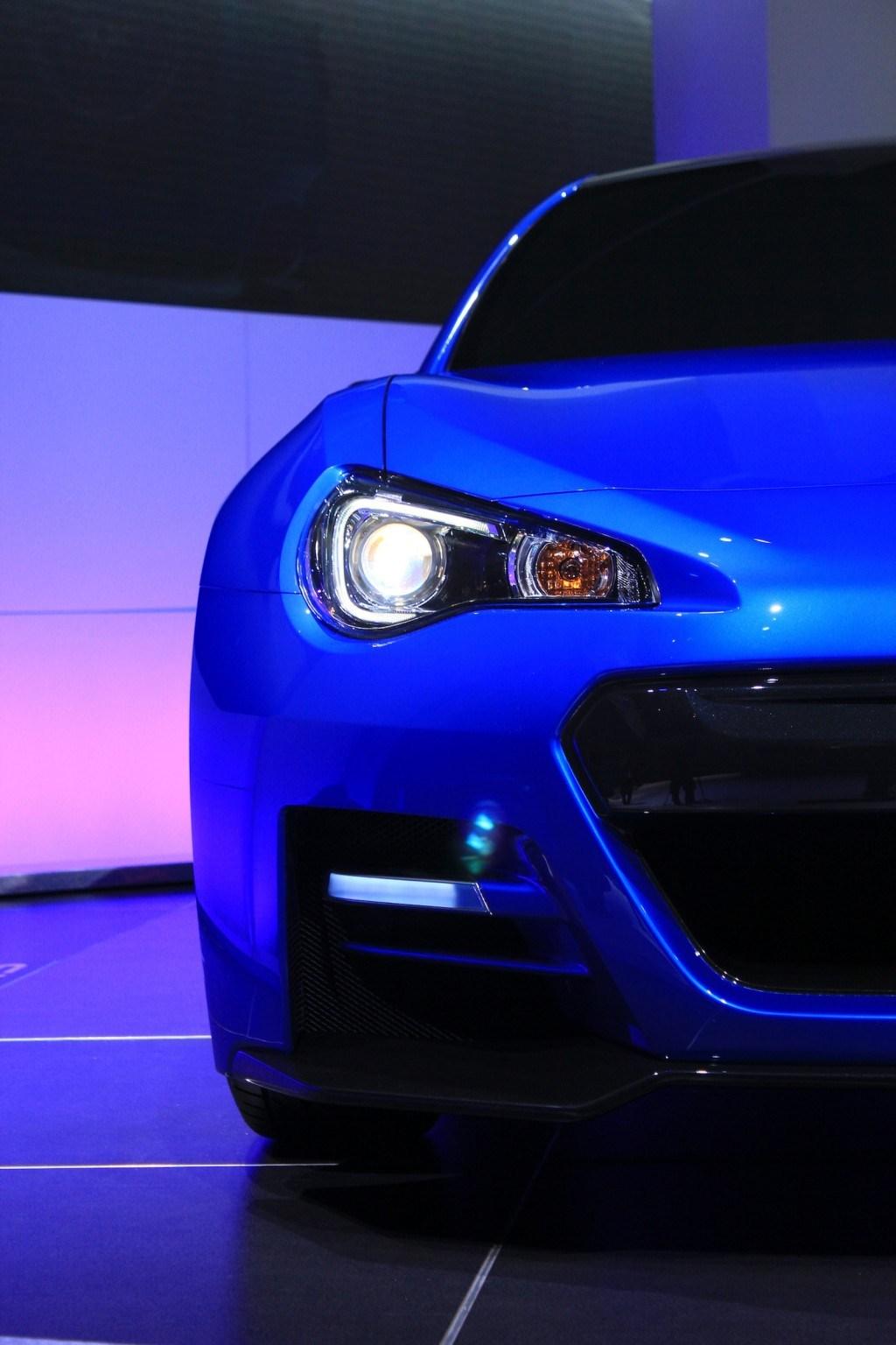 2015 Subaru BRZ Turbo Muscles Car Wallpaper