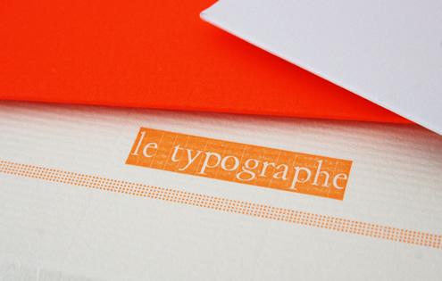 Le Typographe - Buiten de lijntjes