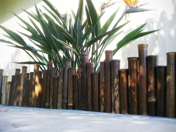 Bamboo Edging For Gardens4
