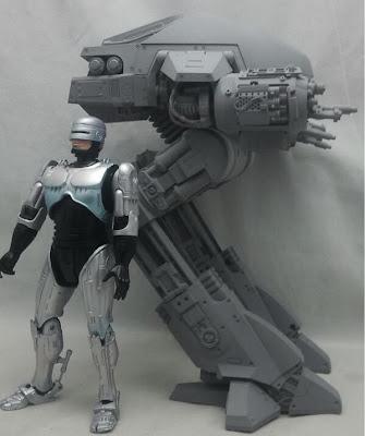 NECA Robocop ED-209 Size Comparison