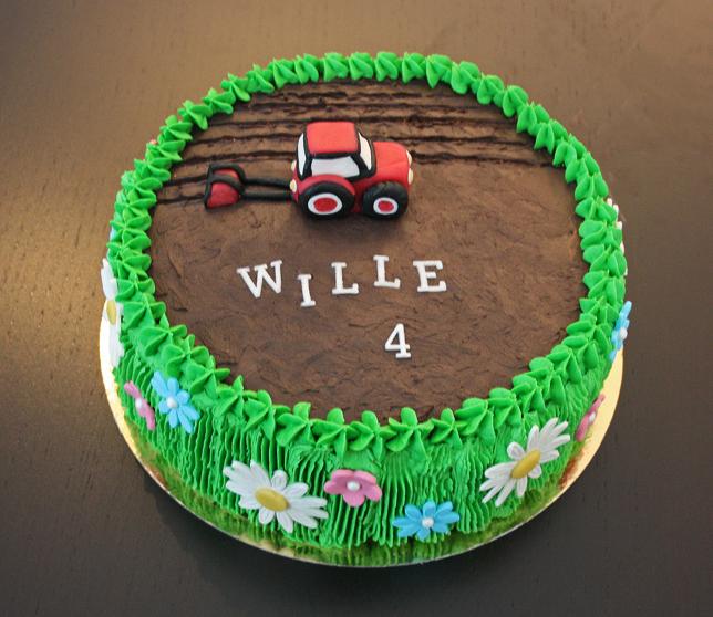 Beställa traktortårta