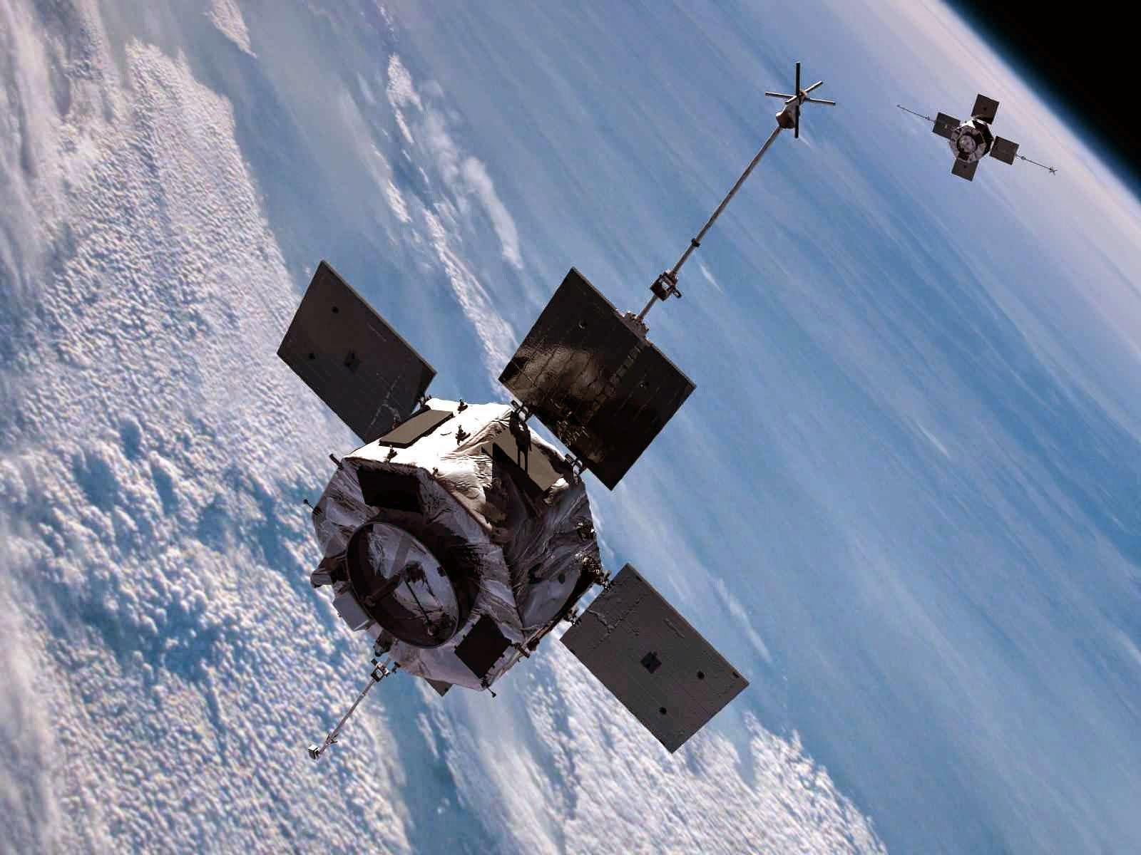 """As sondas de Van Allen da NASA, instrumentos da descoberta do """"escudo"""" protetor da Terra"""