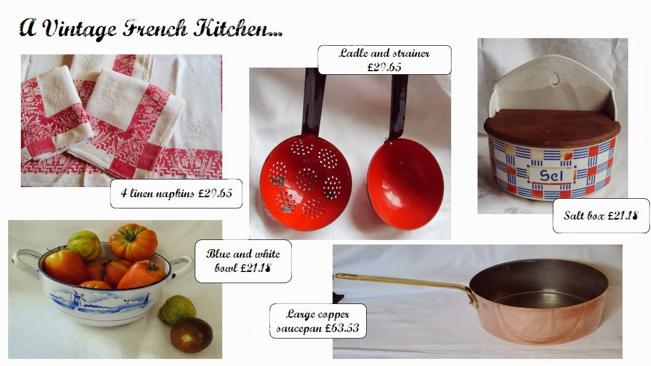 Vintage french kitchen picks from Ma Maison Francaise