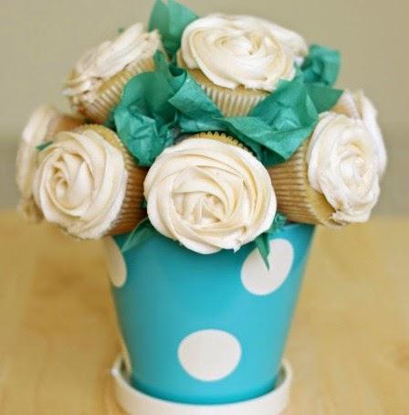 Tips Gubahan Bunga Cupcakes