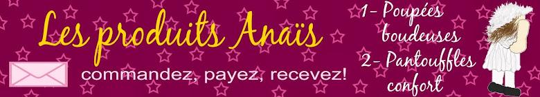 Les produits Anaïs - Pouppées boudeuses