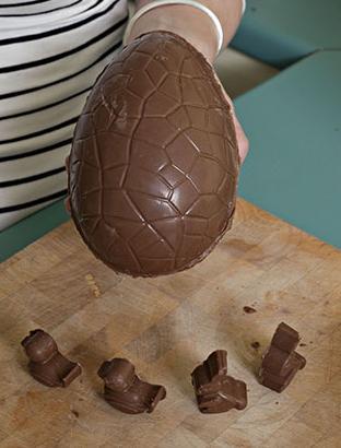 Receta: huevos de Pascua de chocolate caseros