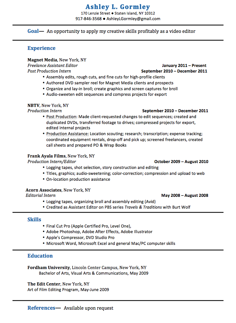 resume editor - Ideal.vistalist.co