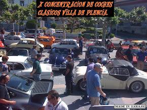 X CONCENTRACION DE COCHES CLASICOS VILLA DE PLENCIA