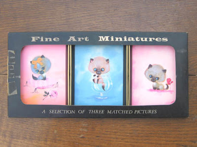 Cute Kitten Fine Art Miniatures!