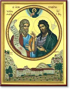 Elijah and St. John the Baptist