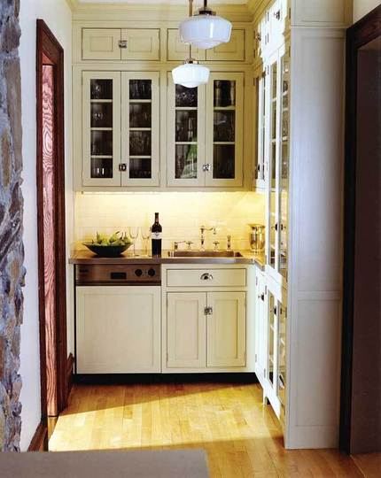 10 Stylish and Tiny Kitchen Design Ideas ~ Simple Design