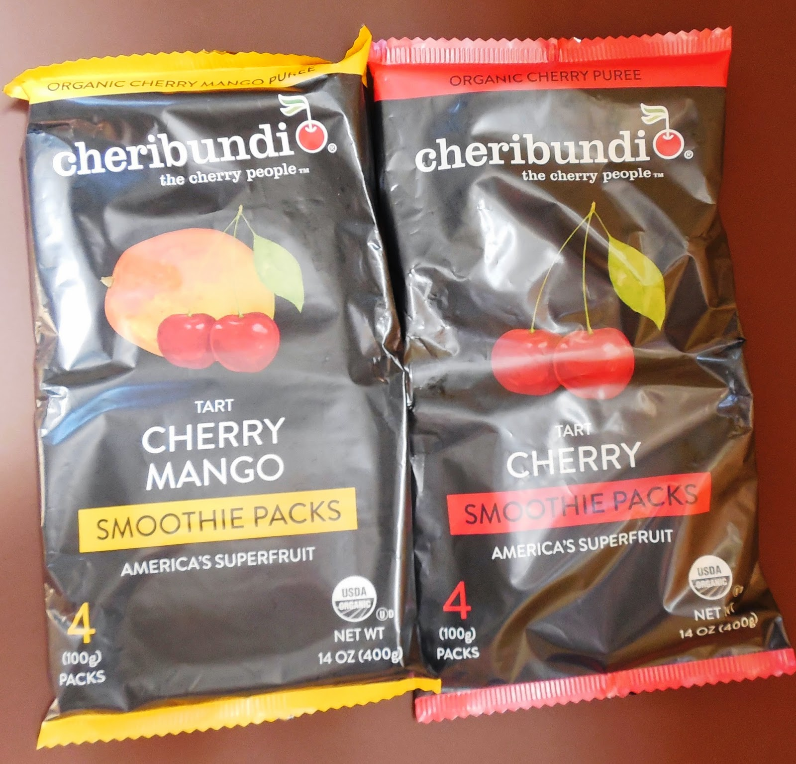 Cheribundi Smoothie Packs