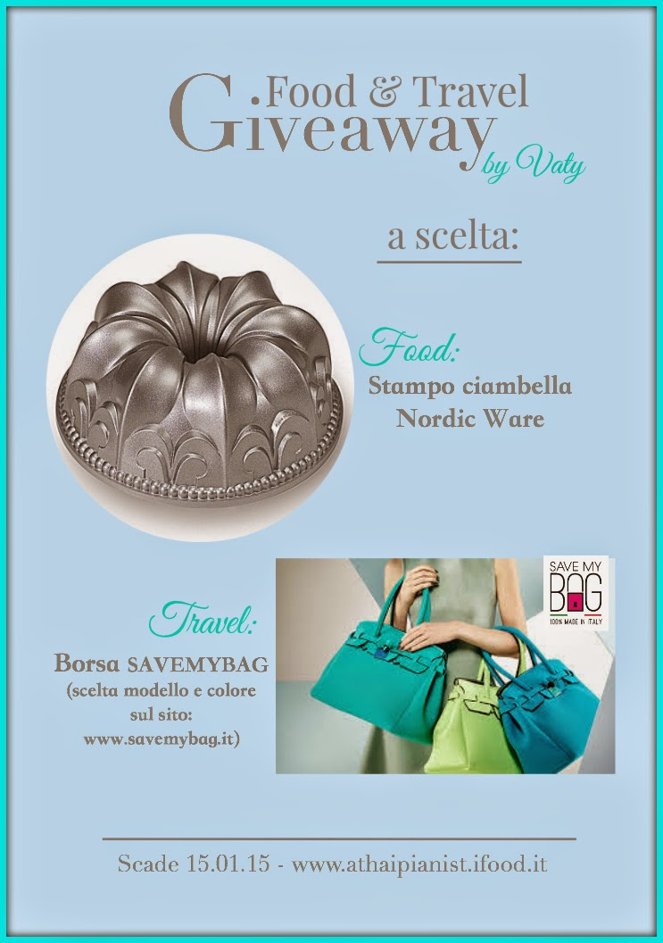 Giveaway di Vaty Food& Travel