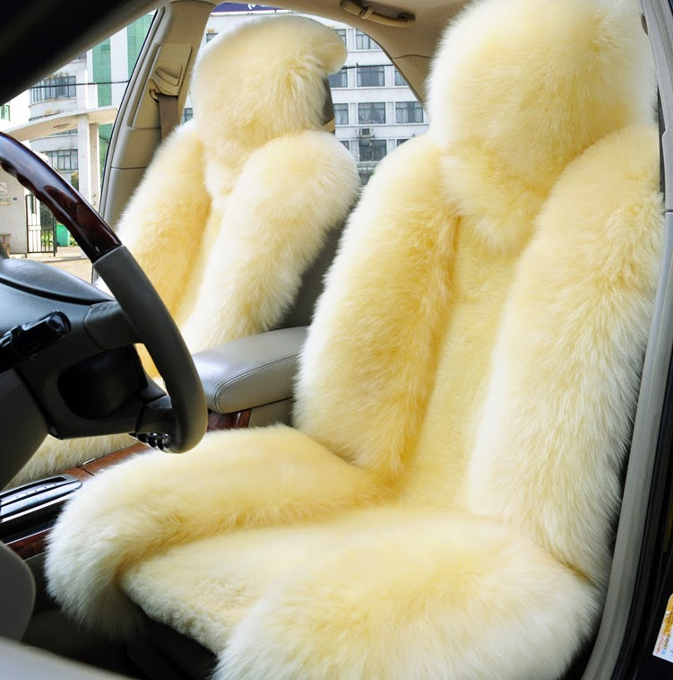 Sheepskin Car Seat Covers Genuine Accessories set