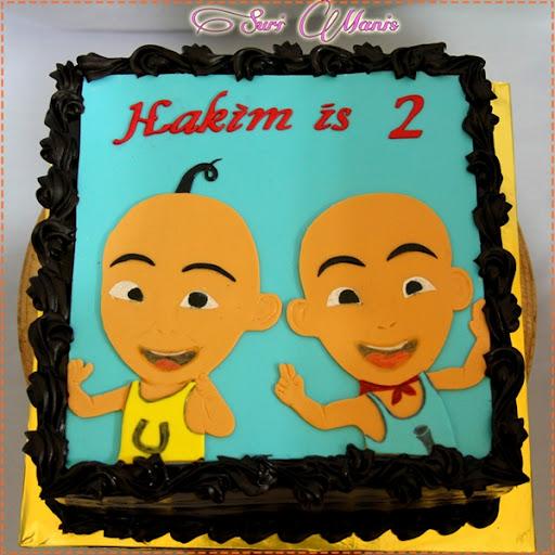 Suri Manis: Sweet Upin & Ipin Cake...