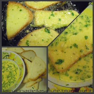 pane fritto nell'uovo