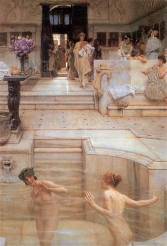 un-obicei-favorit-sir-lawrence-alma-tadema-1909