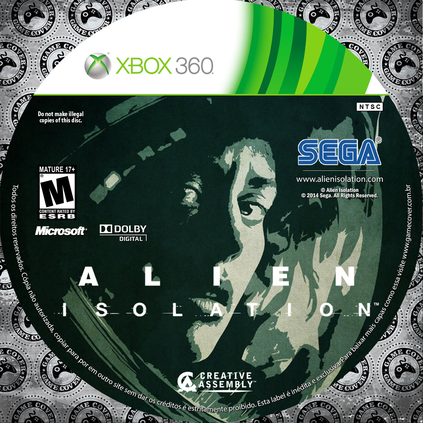 Label Alien Isolation Xbox 360 [Exclusiva]