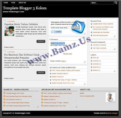 Template Blogger 3 Kolom
