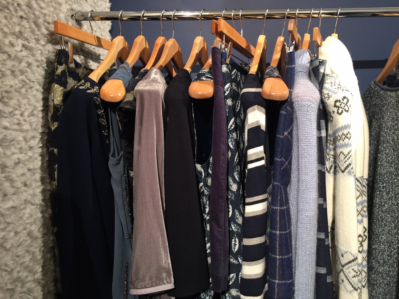 navy and metallics at laura ashley aw15 press day