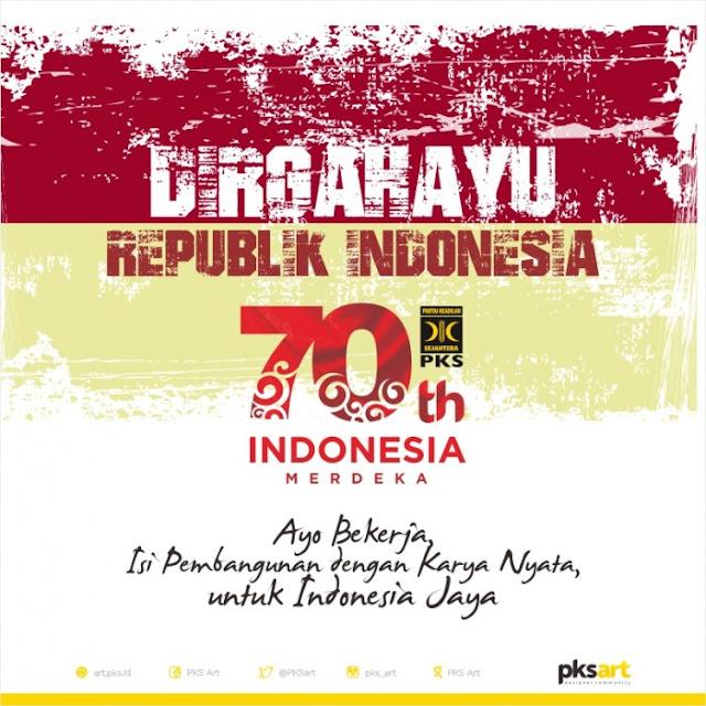 Dirgahayu Indonesiaku, Ayo Bekerja dengan Karya Nyata untuk Indonesia Jaya