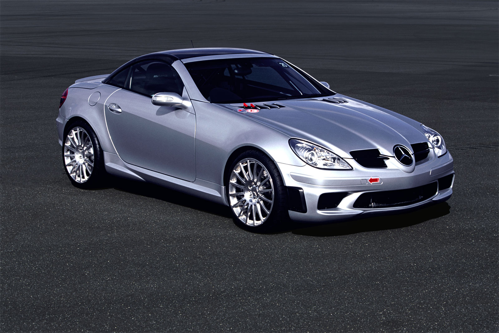 Car barn sport mercedes benz slk 55 amg for Mercedes benz slk 55