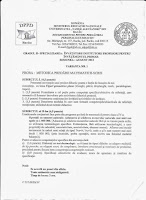 Subiecte invatatori (metodica predarii matematicii) - grad II Bacau 2013