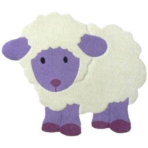 Alfombras infantiles artesanales ovejitas hogar for Alfombras de pompones infantiles