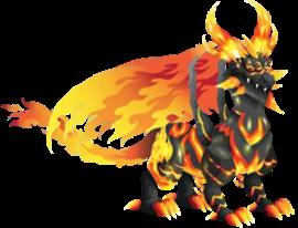 imagen del dragon metal caliente adulto