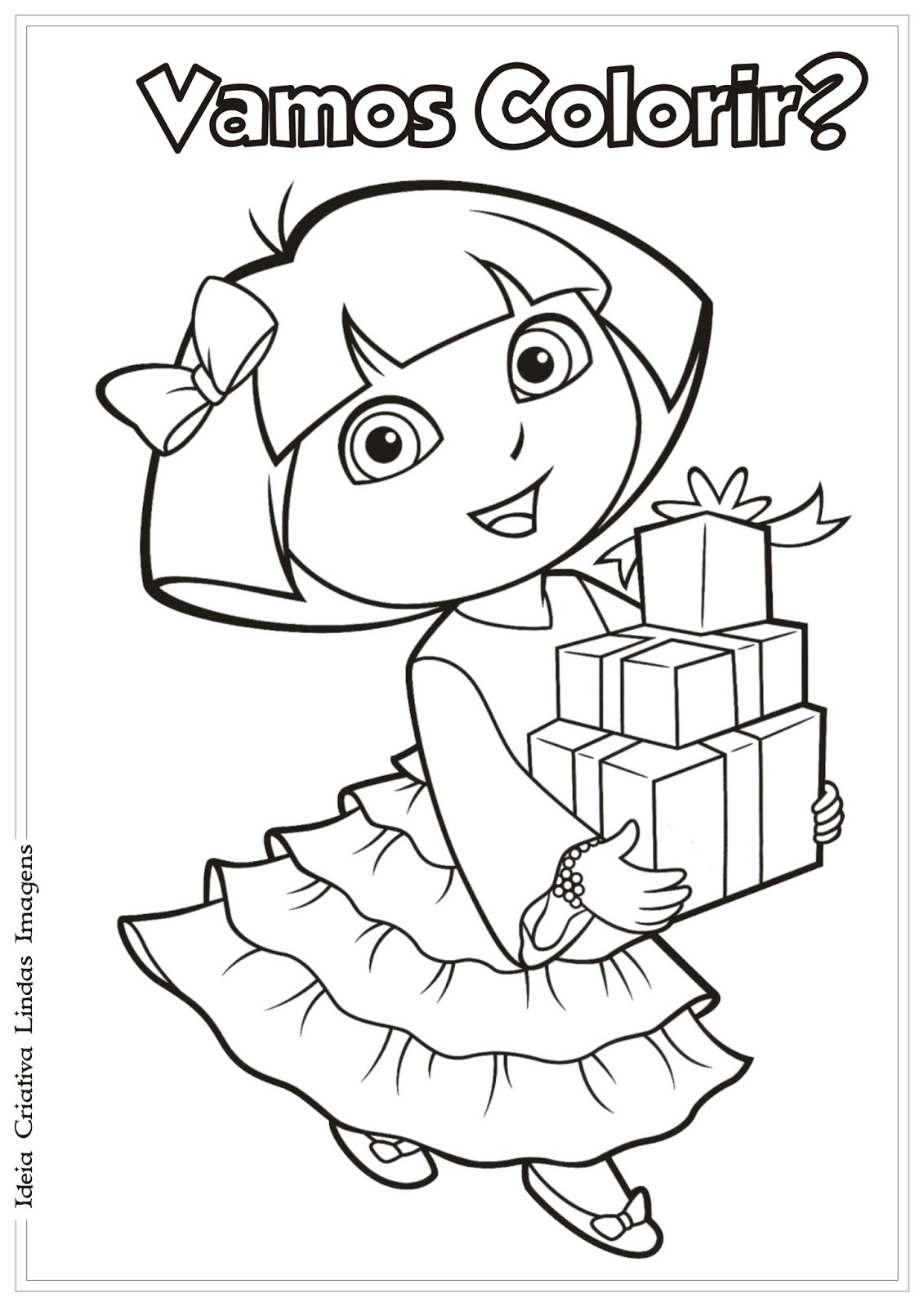 Painting pages dora - Dora Painting Games Dora Christmas Coloring Pages