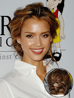 Wedding Hairstyles - Celebrity Updo Hairstyles