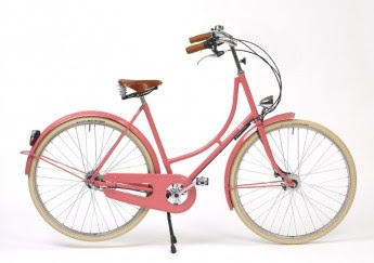 Persephone Pink Bella Bicycle by Beg