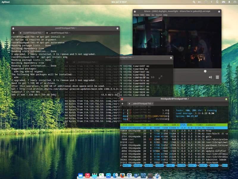 Migrasi Ke Linux: Multimedia Dan Penggunaan Hardware Elementary OS.
