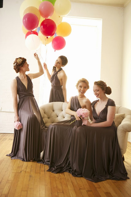 different styles bridesmaid dresses