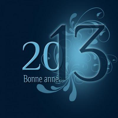 Juju Gribouille vous souhaite ses meilleurs voeux pour l'année 2013