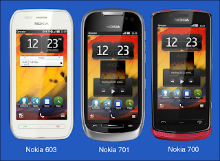 Nokia Bele FTP 2 Enabled mobile phone - 603,700,701,808- pure view