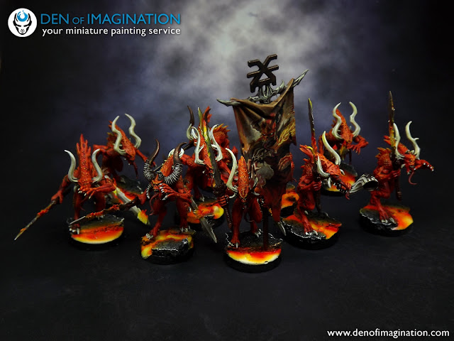 Blog bloodletters on the move those models will be part of a hostile group for an rpg game that our client is a game master of how cool is that some game masters really know how to set fandeluxe Images